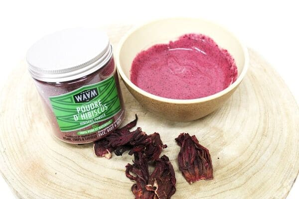 Poudre Hibiscus Soin Cheveux